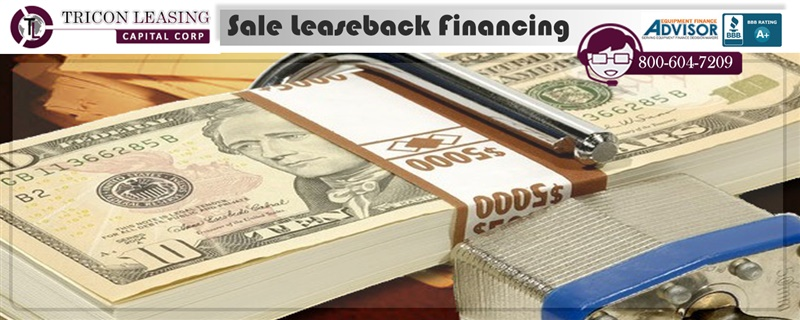 Sale and leaseback financing